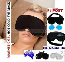 Bio-Magnetic Hot Cold Gel Eye Mask-Tired Eyes Tension Headache Revitalize Face