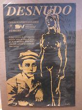 Vintage DESNUDO  Universidad De Sevilla Vintage poster 2531