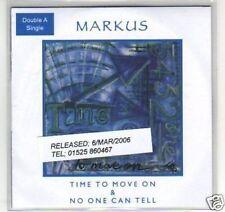 (F946) Markus, Time to Move On - DJ CD