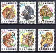 Animaux Félins Bulgarie (71) série complète 6 timbres oblitérés
