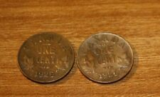 Canada Small Cents 1925 1926