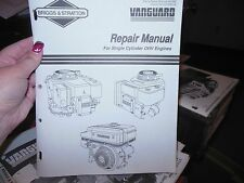 1993 Briggs & Stratton Vanguard Single Cylinder Ohv Engine Repair Manual U
