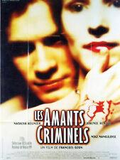 Affiche 120x160cm LES AMANTS CRIMINELS 1998 François Ozon - Natacha Régnier NEU