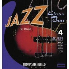 Flatwound Jazz Elettrica Basso Corda Thomastik Jf 344 Nuovo da Giappone