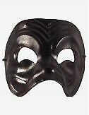Venezianische Masken Arlechì Ledermaske - In Venedig Handgemacht!