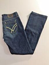 "William Rast Womens Jeans 7.75"" Rise Medium Wash Stella Bootcut size 28"