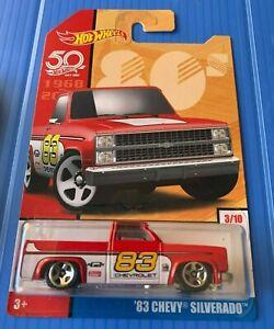 Hot Wheels Exclusive 80s Red '83 Chevy Silverado