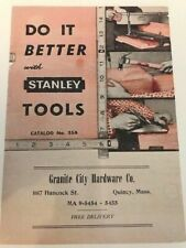 Stanley Vintage 'Do It Better' Tool Catalogue