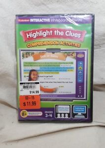 Lakeshore Interactive Whiteboard Highlight the Clues Comprehension New Sealed