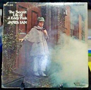 JANIS IAN The Secret Life of J. Eddie Fink Album Released 1968 Vinyl Collection