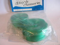 NEW OGK green  bicycle handlebar tape bar wrap BAR END TAPE ''NOS""