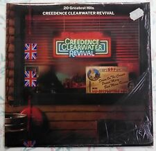 RARE CCR UK IMPORT! 20 Greatest Hits - Creedence Clearwater Revival FT 558 VINYL