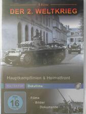 Hauptkampflinien & Heimatfront - 2. Weltkrieg Sammlung 4 Filme - Leben im Krieg
