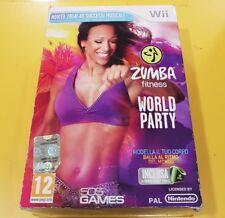 Zumba Fitness World Party + Cintura GIOCO WII VERSIONE ITALIANA