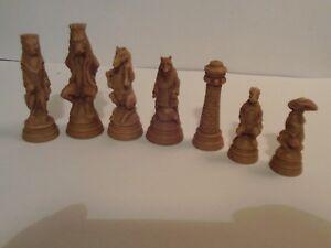 Reynard the Fox chess set latex moulds