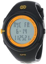Soleus Men's SG003020 GPS Running Watch Black Resin Band Heart Rate Monitor $200