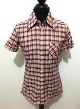 CULT VINTAGE '70 Camicia Uomo Cotton Jersey Scotland Cotton Man Shirt Sz.S - 46