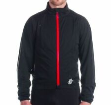 Hincapie Sportswear Power Rainshell Jacket Black Mens Small NEW