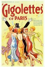 GIGOLETTES OF PARIS Movie POSTER 27x40 Madge Bellamy Gilbert Roland Natalie