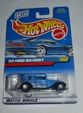 1999 HOT WHEELS '32 FORD DELIVERY BLUE