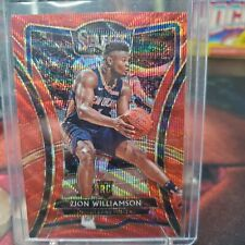 2019-20 SELECT Zion Williamson T-MALL PREMIER RED WAVE PRIZM EXCLUSIVE RC ROOKIE