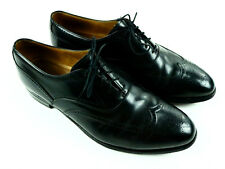 Johnston Murphy Aldrich Black Cap Toe Oxford Shoes 24-8649 Men's 12 C/A