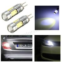 2X HP24W DRL Day Lights HIGH POWER CAR LED SMD BULBS CANBUS FOR CITROEN