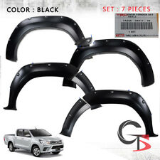 Toyota Hilux Revo 15 16 2017 To Fender Flares Wheel Arch Black Nuts TRD Genuine