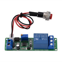 Adjustable 1~10sec Delay Turn OFF Switch Timing Timer Time Relay Module 12V