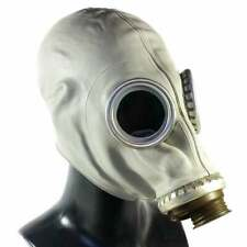 More details for soviet russian gas mask new gp-5 & canvas bag nbc all sizes grey collectable