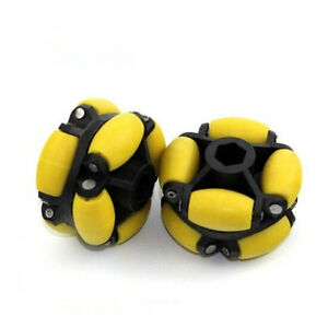 70mm Robotic Omni-Directional Wheel With Hubs For Robot Industrial Grade