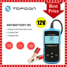 Automotive 100-2000 CCA Battery Analyzer Load Tester Car Cranking Charging Scan