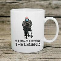 Bernie Sanders Mittens The Man The Mittens The Legneds Coffee Mug