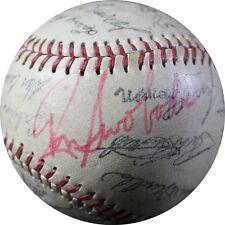 RON SWOBODA HAND SIGNED 1969 NY METS TEAM AUTOGRAPHED FACSIMILE SOUVENIR BALL