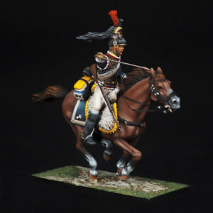 Tin soldier, French 7th Cuirassier Trooper, Napoleonic Wars, 54 mm
