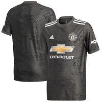 Adidas Kids Manchester United Football Soccer Away Shirt 2020-21