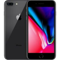 Apple iPhone 8 Plus - 64GB - Space Gray Fully Unlocked 4G LTE Smartphone (A1864)