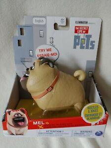 Secret Life of Pets Walking Talking Pets Mel Figure Toy New