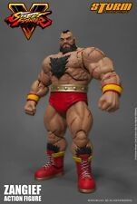 Street Fighter ~ ZANGIEF 1/12 SCALE ACTION FIGURE ~ SFV ~ Storm Collectibles