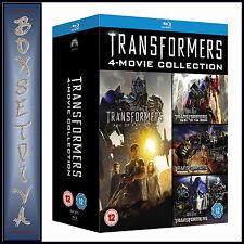 TRANSFORMERS - 4 MOVIE COLLECTION   ***BRAND NEW BLU-RAY BOXSET **