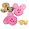 Mickey & Minnie Mouse Shape Cookie Mold Cutter - USA Seller