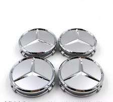 75mm Car Decoration Wheel Hub Center Caps Badge Fit For Mercedes-Benz ML R AMG