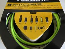 Jagwire Road Pro Complete Road Bike Brake and Gear Cable Set Organic Green