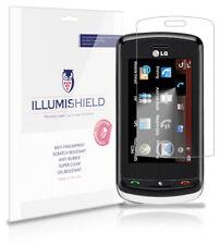 iLLumiShield Phone Screen Protector w Anti-Bubble/Print 3x for LG Xenon GR500