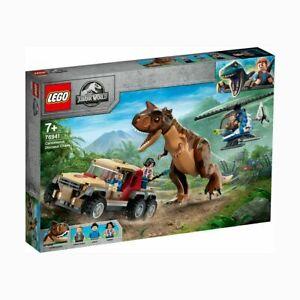 LEGO Jurassic World Carnotaurus Dinosaur Chase - 76941 Jurassic World For Kids T