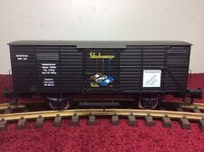 MARKLIN 85895 MUSEUMSWAGEN 1995 BOX CAR WITH OLD TIME AUTOMOBILE  G SCALE