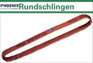RUNDSCHLINGEN 1 t bis 8 t, NL: 1 - 6 Meter Hebeband Krangurt Schlupp Kranschling