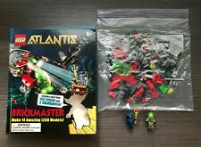 LEGO Atlantis Brickmaster Book - Make 14 Amazing Lego Models!!! (100% Complete)