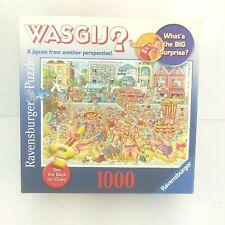 "Ravensburger WASGIJ? 1000 Piece Mystery Jigsaw Puzzle ""High Tide"""