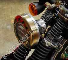 FANALE FARO BRASS HARLEY DAVIDSON SPORTSTER DYNA SOFTAIL FORTY EIGHT IRON CUSTOM